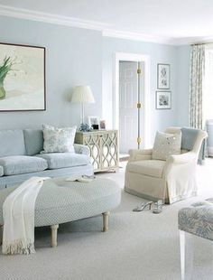 Colors, textures, furniture style...pretty much like everything here.