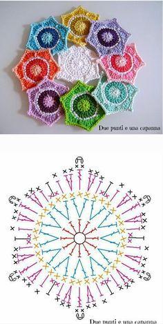 Crochet Chart, Crochet Patterns, Crochet Earrings, Jewelry, Fashion, Pattern, Flowers, Moda, Jewlery