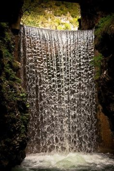 Mountain Waterfall,