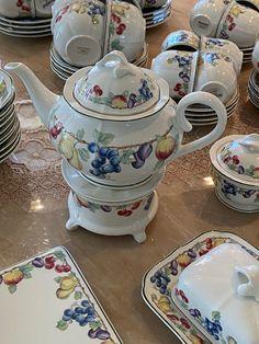 villeroy boch Melina | FINN.no Fine Porcelain, Tea Pots, Tableware, Dinnerware, Tablewares, Tea Pot, Dishes, Place Settings, Tea Kettles