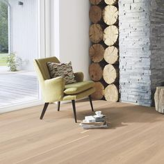 Oak Andante White wood flooring features Boen Live Oil Finish- a new surface that gives floors a completely organic look. White Wood Floors, Maple Floors, Hardwood Floors, New Surface, Wide Plank Flooring, White Oak, Firewood, Sweet Home, Flooring