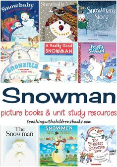 Winter has arrived, and with it comes dreams of building snowmen! Get kids excited about the winter season with a wonderful collection of snowman books for kids! Educational Activities For Toddlers, Christmas Activities For Kids, Book Activities, Kids Learning, Winter Fun, Winter Season, Winter Ideas, Winter Snow, Preschool Books