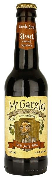 Beers of Europe | McGargles Uncle Jim's Stout