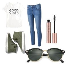 """Untitled #17"" by laylahatch on Polyvore featuring Tommy Hilfiger, Keds and Ray-Ban"