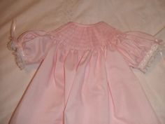 Ready to Smock 6m or 12m Bishop Style Dress Made to by pattiwalsh, $33.00