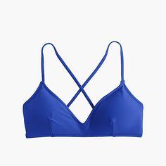 6869682a1cae9 French cross-back bikini top. French BikiniWomen s SwimwearBikinisJ  CrewBikini ...