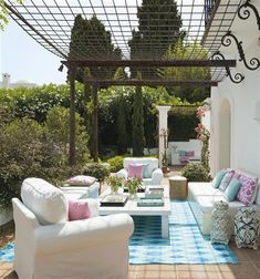Pergola For Small Patio Backyard Canopy, Garden Canopy, Canopy Outdoor, Outdoor Rooms, Outdoor Living, Outdoor Decor, Outdoor Cushions, Outdoor Furniture, Canopy Bedroom