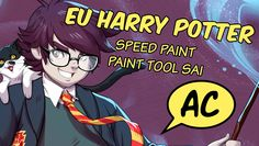 EU Harry potter - Speed Paint - Paint tool sai