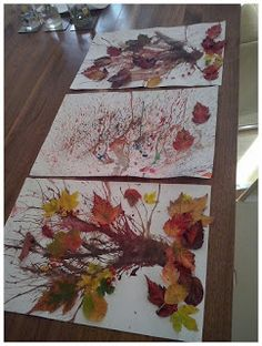 ✔ 33 easy fall crafts ideas to celebrate the autumn season 27 Easy Fall Crafts, Fall Crafts For Kids, Diy Home Crafts, Art For Kids, Kids Crafts, Kids Diy, Decor Crafts, Tree Study, Autumn Art