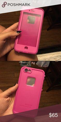iPhone 6/6s lifeproof hot pink lifeproof LifeProof Other