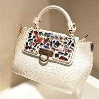 Look so young ! Jeansian Women Party Bag Drawstring Hasp Street Shoulder Messenger Bag Hand Bag Nice Gift O_WBG111