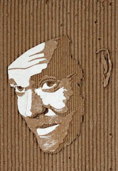 Old Hollywood Portraits cutted into Cardboards (12 Pictures)