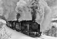 THE NORTH WIND≪北海道の蒸気機関車≫現役蒸気の活躍「天北越えのキュウロク」