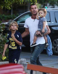 Gavin Rossdale Does Sushi With Sons - http://site.celebritybabyscoop.com/cbs/2015/10/02/gavin-rossdale-sushi #ApolloRossdale, #Divorce, #GavinRossdale, #GwenStefani, #KingstonRossdale, #Split, #ZumaRossdale