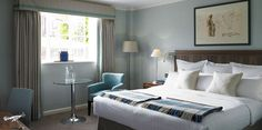 Goodwood has a range of rooms to suit any taste for the perfect break in West Sussex. Book your perfect Chichester getaway at this stunning hotel. Beds Uk, Country Hotel, Hotel Suites, This Is Us, Traditional, Blanket, Luxury, Melbourne, Furniture