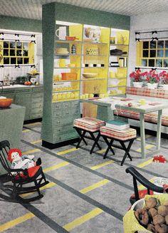 "https://flic.kr/p/oANZzJ | ""Color Adds Flavor to Your Kitchen!"" | Sherwin-Williams brochure 1958"