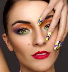 Un maquillaje colorido le dará vida a tu rostro y expresará todo lo que sientes.  ¡La felicidad está en ti! #Maybelline #MaybellineNewYork #MaybellineEstáEnTi
