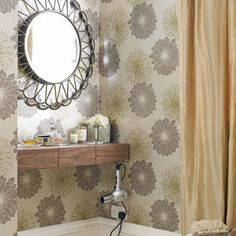 Country bedroom pictures and photos for your next decorating project. Find inspiration from of beautiful living room images Corner Vanity Table, Ikea Vanity Table, Corner Bathroom Vanity, Alcove Desk, Bedroom Alcove, Bedroom Decor, Bedroom Ideas, Master Bedroom, Small Dressing Table