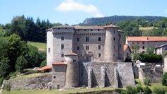 Château de Chalmazel in Rhône-Alpes