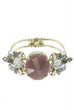 Stone Cuff Bracelet By Anton Heunis