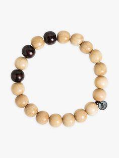bracelet rodrigo noir et écru | agnès b. Beaded Bracelets, Jewelry, Black People, Jewlery, Jewerly, Pearl Bracelets, Schmuck, Jewels, Jewelery