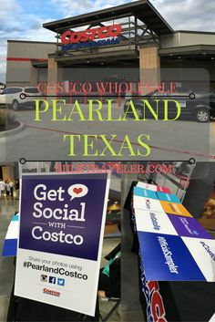 BulkTraveler took a trip to the great state of TEXAS! We were in town for the VIP party and grand opening for the new Costco Wholesale located in Pearland, Texas.