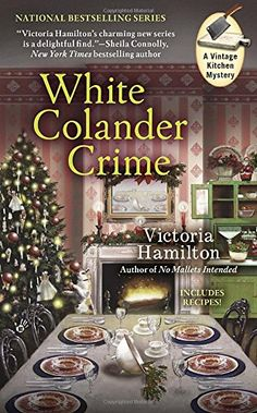 White Colander Crime (A Vintage Kitchen Mystery) by Victoria Hamilton.  Please click on the book jacket to check availability or place a hold @ Otis.  (11/03/15)