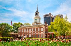 Independence National Historical Park The early history of the United States is recalled at the famous sites in this park, including the Liberty Bell, Congress Hall, and iconic Independence Hall, where the Declaration of Independence was signed in 1776. #travel
