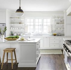 Top 10 Wall Paint Colors To Elevate Your Kitchen Space Rustic Kitchen Decor, Farmhouse Style Kitchen, Rustic Decor, White Farmhouse, Modern Farmhouse, Farmhouse Decor, Coastal Farmhouse, Coastal Cottage, Rustic Wood