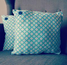 Rond bleu #cushion #pillow #homemade #handmade  #indoor #lifestyle
