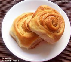 Cakes And More!: No Knead Soft Cinnamon Rolls (Eggless) - Pioneer Woman's Recipe