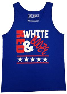 'Red, White, and Booze' Tank Top – United Tees