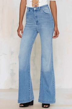 Rolla's Eastcoast High-Waisted Flare Jeans