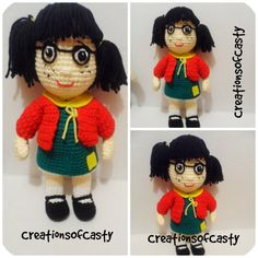 La chilindrina  PDF Amigurumi Doll .. (only spanish )