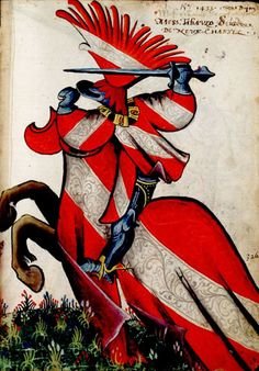 Well known coats of arms Medieval Knight, Medieval Armor, Medieval Paintings, Medieval Times, Chivalry, China Painting, Knights Templar, Illuminated Manuscript, Coat Of Arms