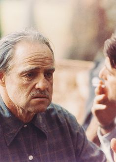 Marlon Brando as Vito Corleone The Godfather
