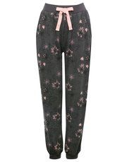Floral print jogger loungewear trousers