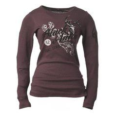 Black Antler Women's Alert Long Sleeve Thermal Shirt