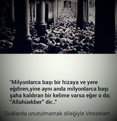 """""""Allahüekber"""""""