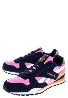 Lifestyle Azul-Rosado-Naranja Neón Reebok GL 3000 Reebok Zapatos Deportivos  Mujer c89186ef7