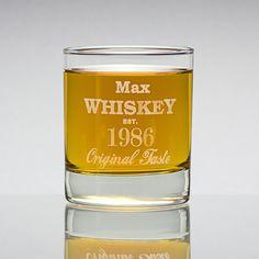 Whiskey-Glas mit Gravur - Geschenke von Geschenkidee