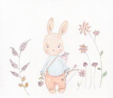 Pikachu, Illustrations, Poster, Fictional Characters, Art, Rabbits, Flowers, Art Background, Illustration