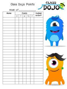and Primary: Class Dojo Rewards! A Free Rewards Kit for Your Classroom!Pride and Primary: Class Dojo Rewards! A Free Rewards Kit for Your Classroom! 4th Grade Classroom, Kindergarten Classroom, School Classroom, Classroom Ideas, Monster Classroom, Beginning Of School, New School Year, Class Dojo Rewards, Classroom Dojo Rewards