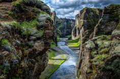 Fjaðrárgljúfur in South Iceland