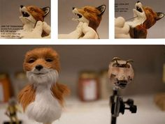 How the Puppets from Fantastic Mr. Fox Were Made [Slide Show]   Vanity Fair