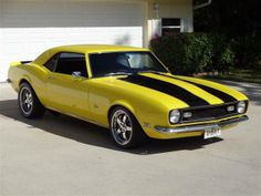 1968 Chevrolet Camaro Z/28 PRO-TOUR A/C 550Hp Bumblebee!!...Re-pin Brought to you by agents at #HouseofInsurance in #EugeneOregon for #LowCostInsurance.