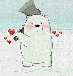 Cute Panda Wallpaper, Cartoon Wallpaper Iphone, Bear Wallpaper, Cute Wallpaper Backgrounds, Disney Wallpaper, We Bare Bears Wallpapers, Panda Wallpapers, Cute Cartoon Wallpapers, Ice Bear We Bare Bears