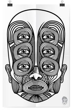 Illustrations 2012 / Tone Olvera by Tone Olvera , via Behance