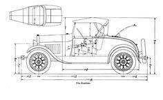 1928 - 31 Model A Ford frame dimensions | 1929fordhotrod.com