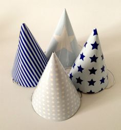 Parts Hats Mix - Blue